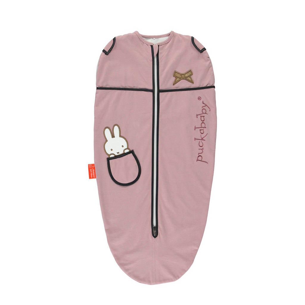 Puckababy The Original Mini Nijntje baby inbakerdoek 3-6 mnd roze, Nijntje Candy