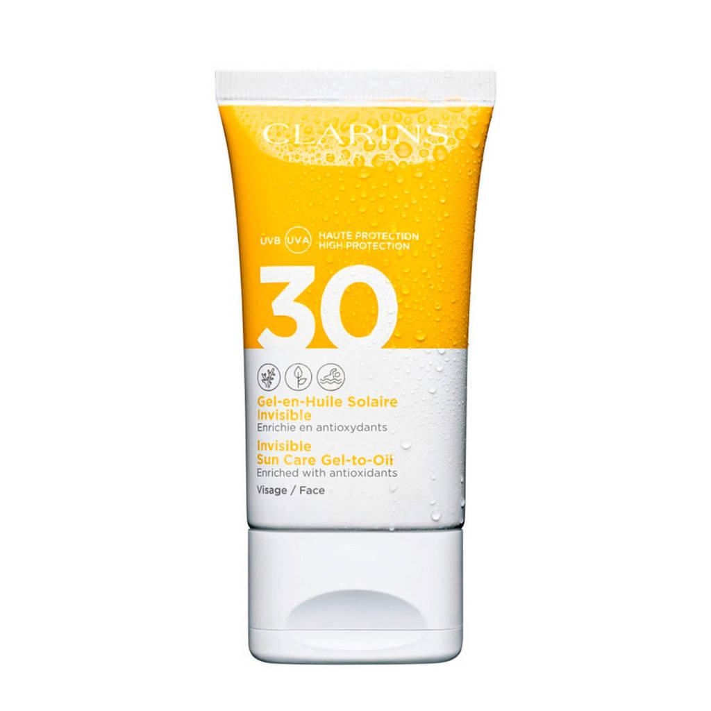 Clarins Invisible Sun Care Gel-To-Oil SPF30 - 50 ml