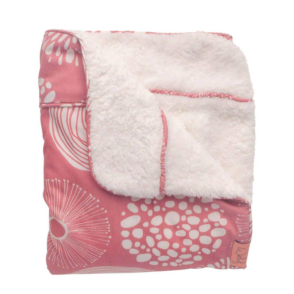 Witlof for kids baby wiegdeken Sparkle roze, Roze