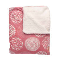 Witlof for kids baby ledikantdeken Sparkle roze, Roze
