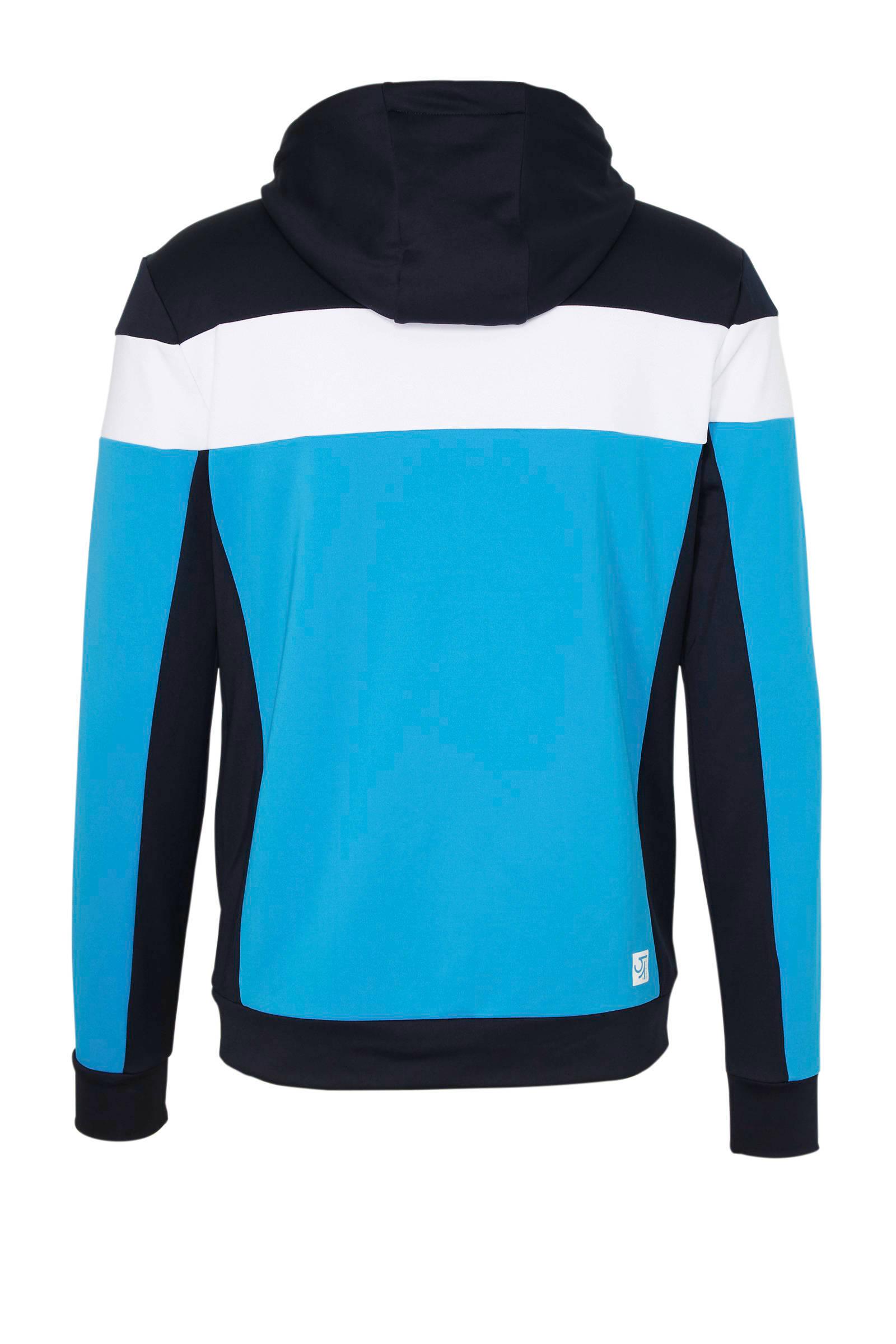 Sjeng Sports sportvest turquoise/zwart/wit