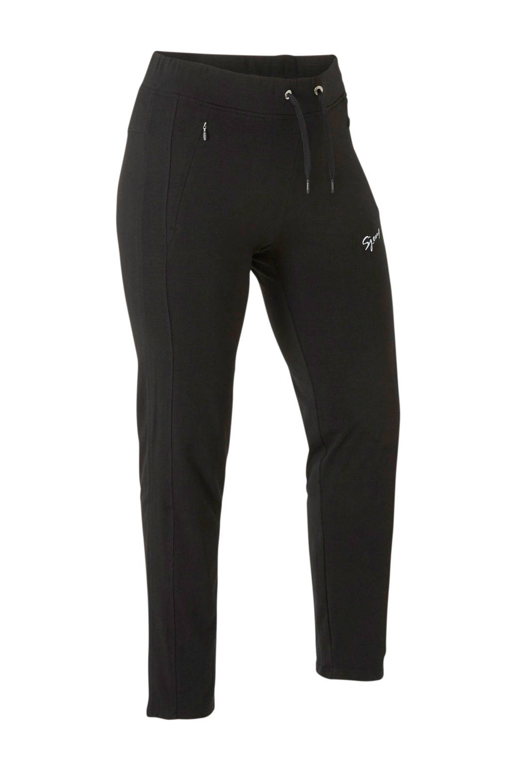 Sjeng Sports Plus joggingbroek zwart, Zwart
