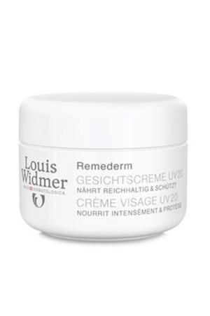 Ongeparfumeerde Remederm UV20 gezichtscrème - 50 ml