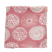 Witlof for kids hydrofiele doek 120x120 cm Sparkle roze, Roze