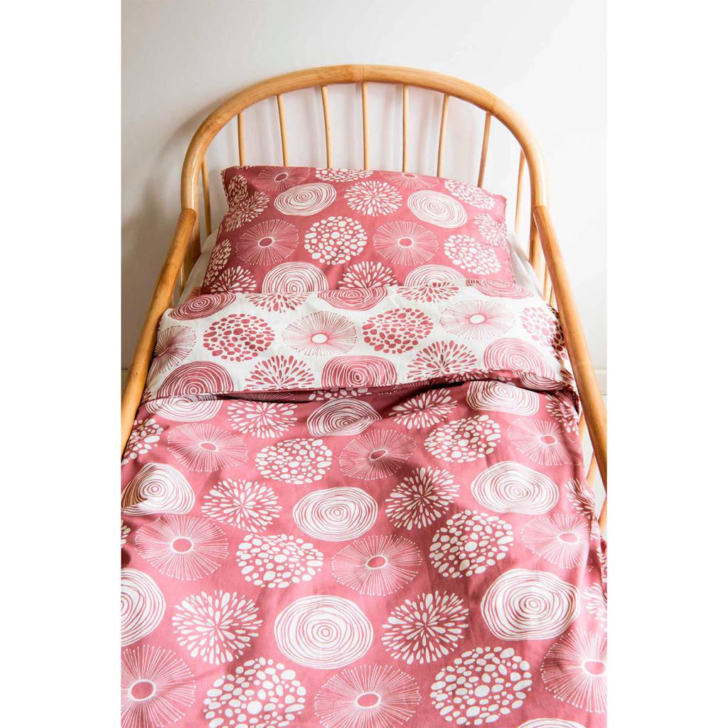Witlof for kids ledikant dekbedovertrek 100x135 cm Sparkle roze, Roze