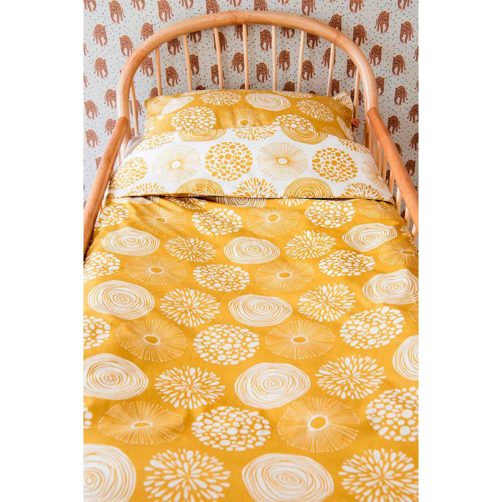 Witlof for kids ledikant dekbedovertrek 100x135 cm Sparkle sweet honey, Oker