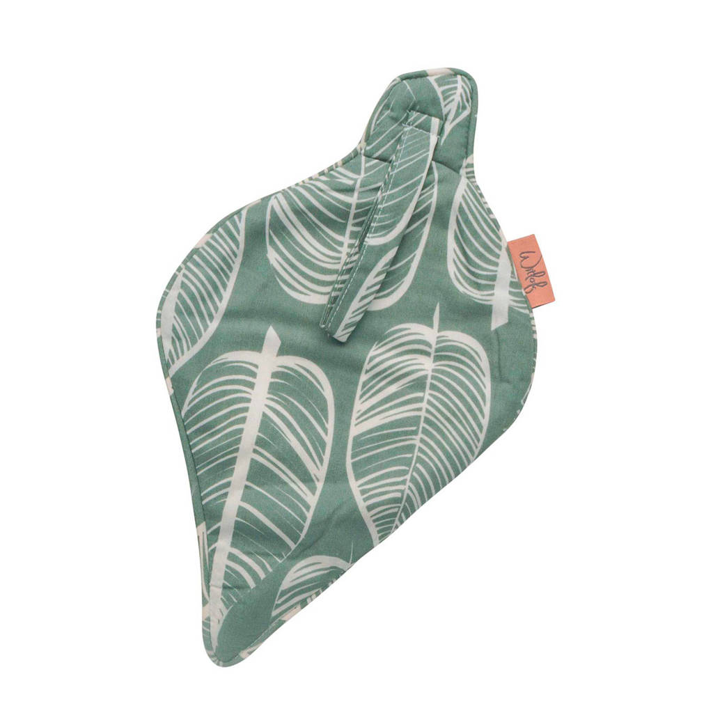 Witlof for kids speendoekje Beleaf sage green, Groen