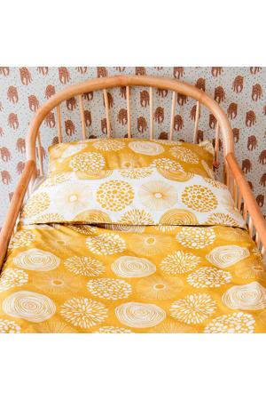 katoenen junior dekbedovertrek 120x150 cm Sparkle sweet honey