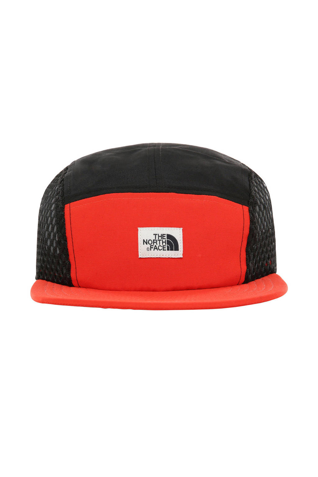The North Face cap Class V Five Panel rood/blauw, Rood/blauw