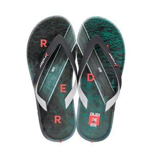 R1 Energy teenslippers grijs/groen