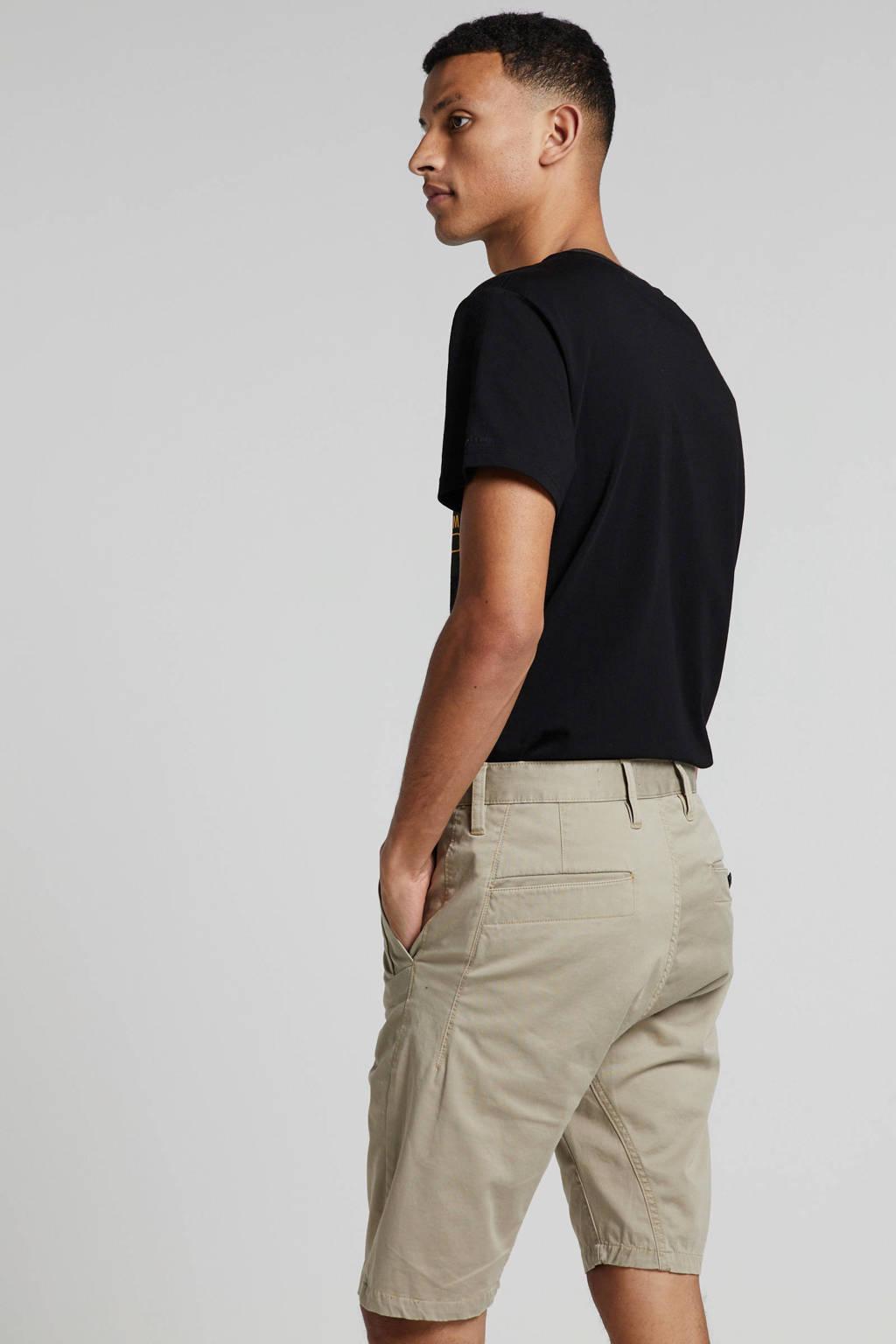 G-Star RAW T-shirt met logo zwart, Zwart