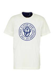 G-Star RAW T-shirt Graphic ecru
