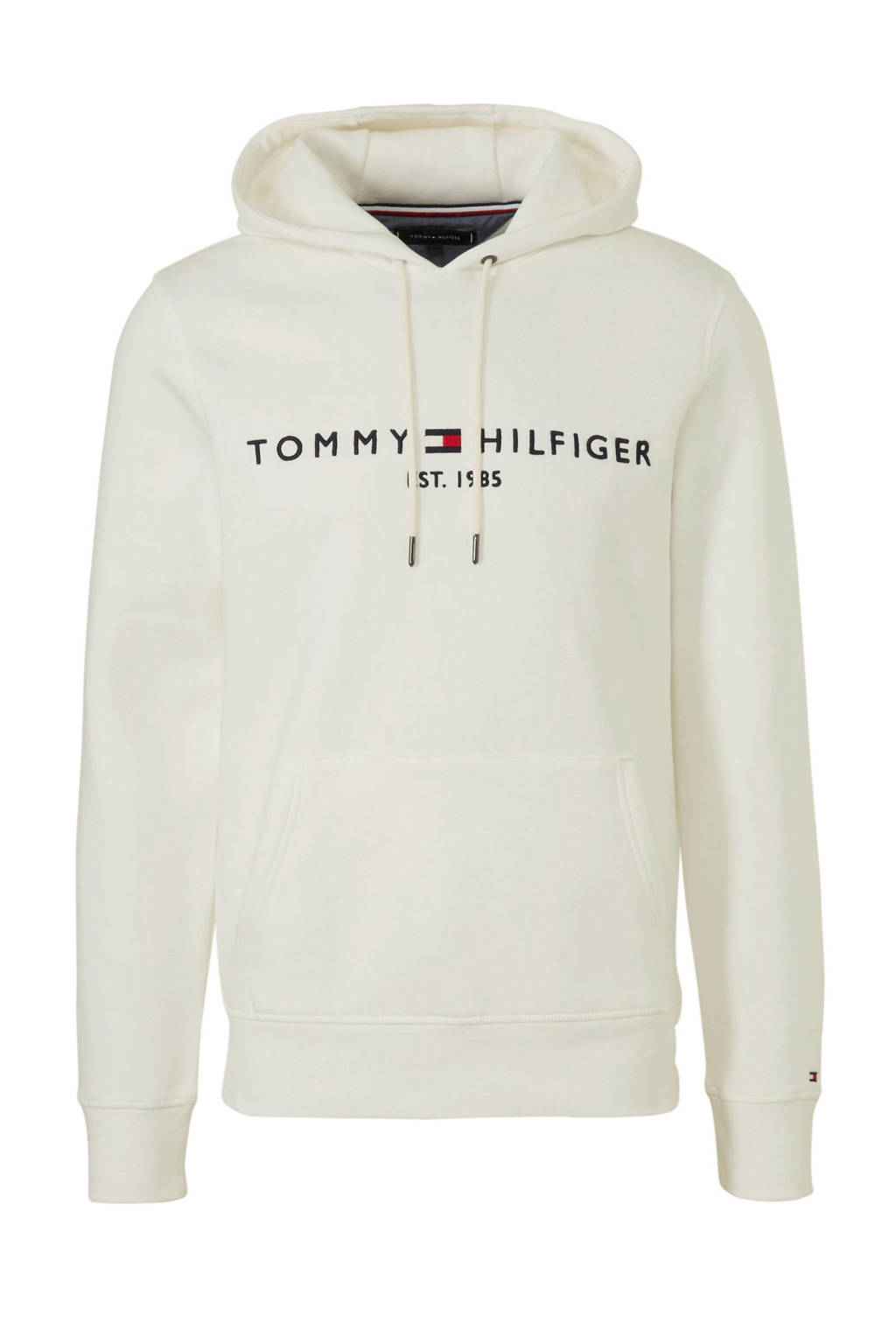 Tommy Hilfiger hoodie met logo wit, Wit