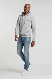 Tommy Hilfiger hoodie met logo grijs, Grijs
