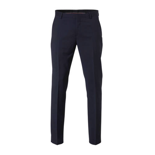 Tommy Hilfiger Tailored wollen regular fit pantalo