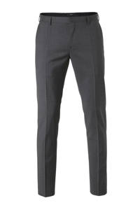 Tommy Hilfiger Tailored wollen slim fit pantalon, Grijs
