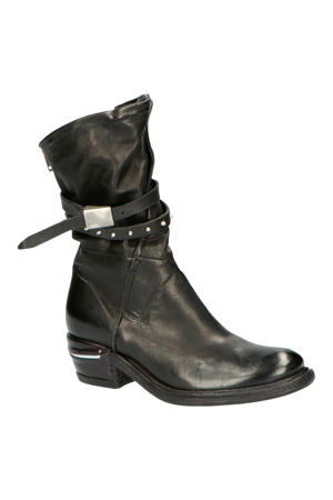 512205 leren laarzen zwart