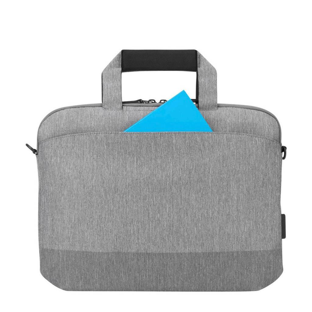 Targus City Line Pro 15,6 inch City Line Pro laptoptas, Grijs
