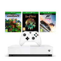 Xbox One S All-Digital Edition console + Minecraft, Sea of Thieves en Forza Horizon 3 (downloads) (Xbox One)