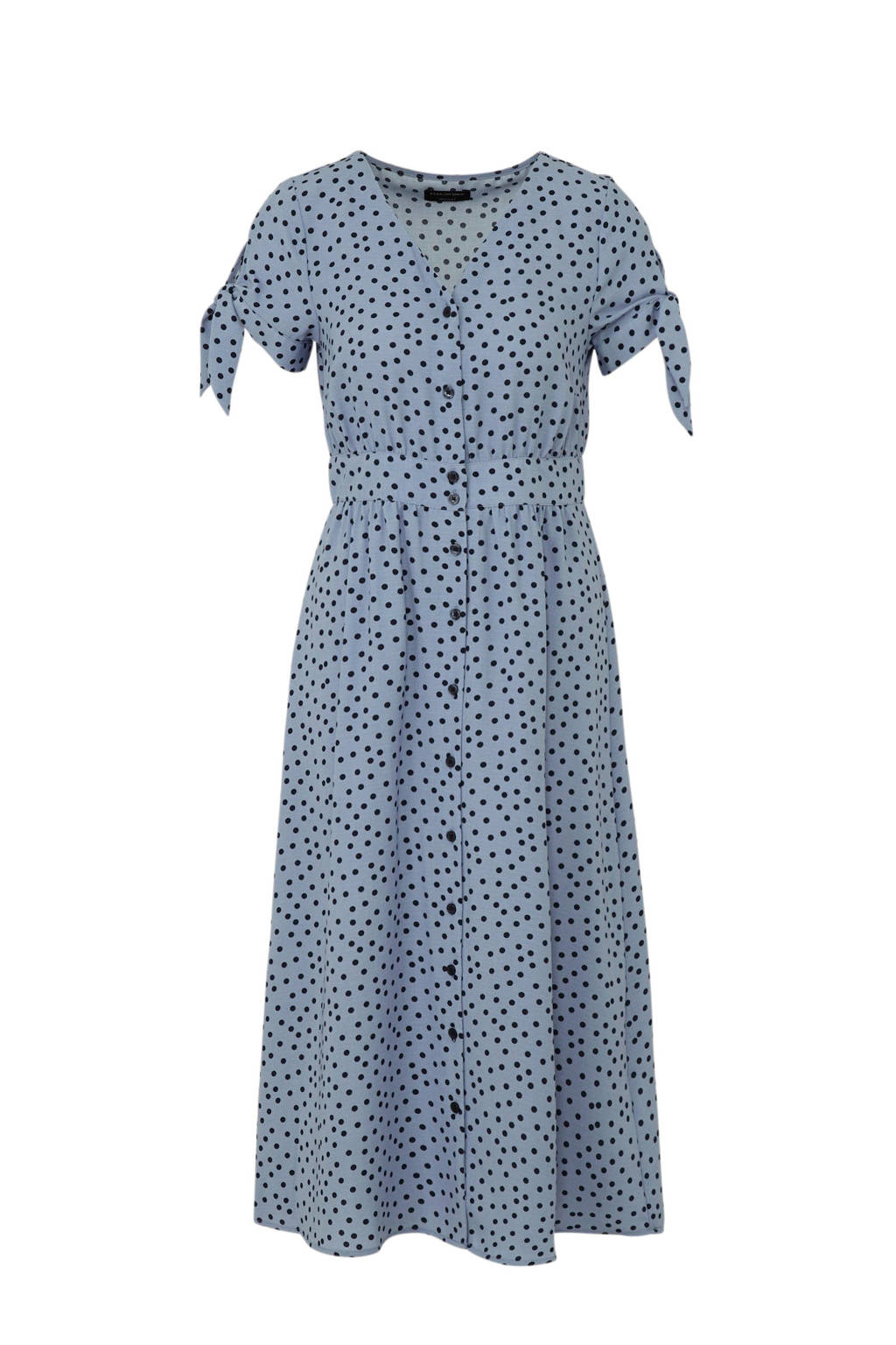 C&A Yessica jurk met stippen blauw, Blauw