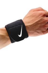 Nike pols bandage Wrist Wrap 2.0 zwart, Zwart