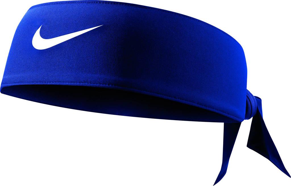 Nike   hoofdband blauw, Blauw