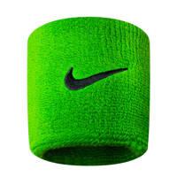 Nike   polsband - set van 2, Limegroen