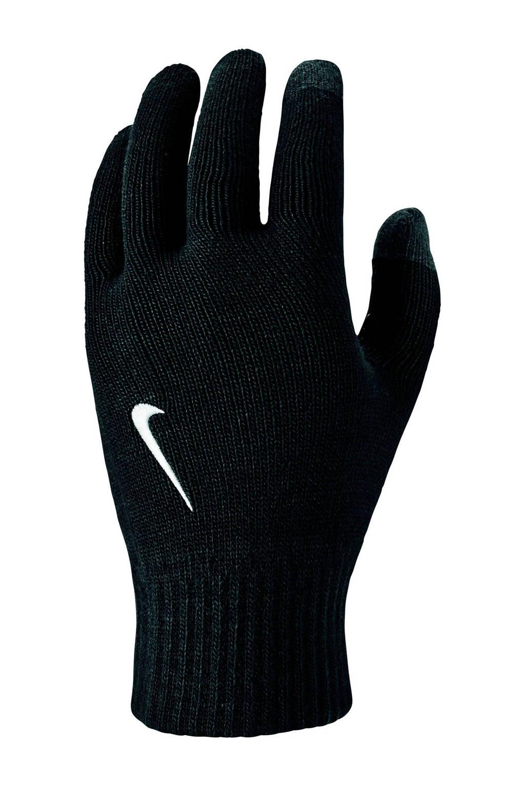 Nike   Knitted Tech & Grip Gloves handschoenen zwart, Zwart