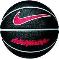 Nike Dominate 8P basketbal, Zwart/rood