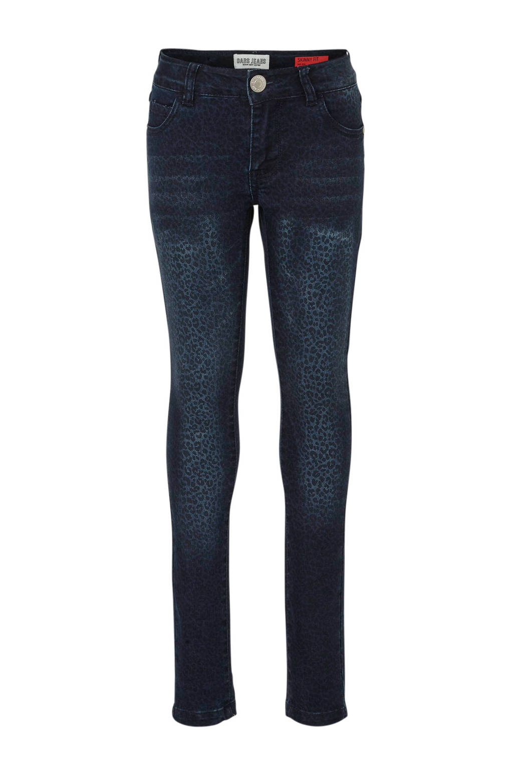 Cars skinny jeans Razia met panterprint dark used, Dark used