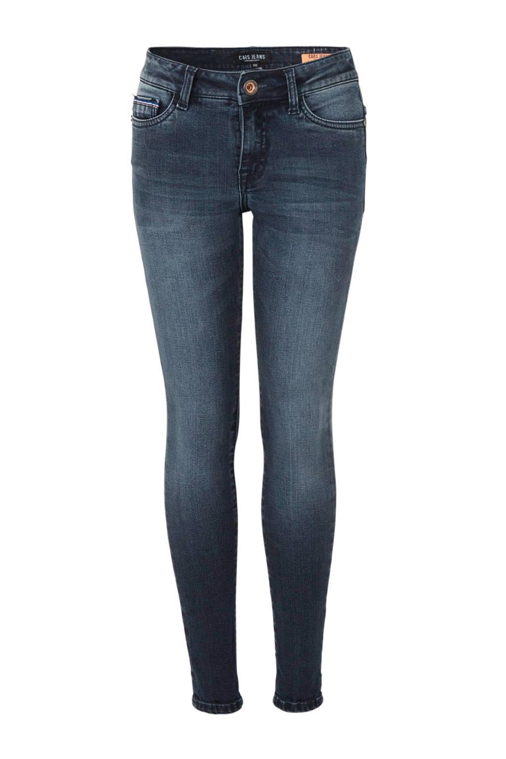 Cars super skinny jeans Diego blauwzwart, Blauwzwart