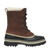 Sorel Caribou  Wool Boot Caribou Wool snowboots, Bruin