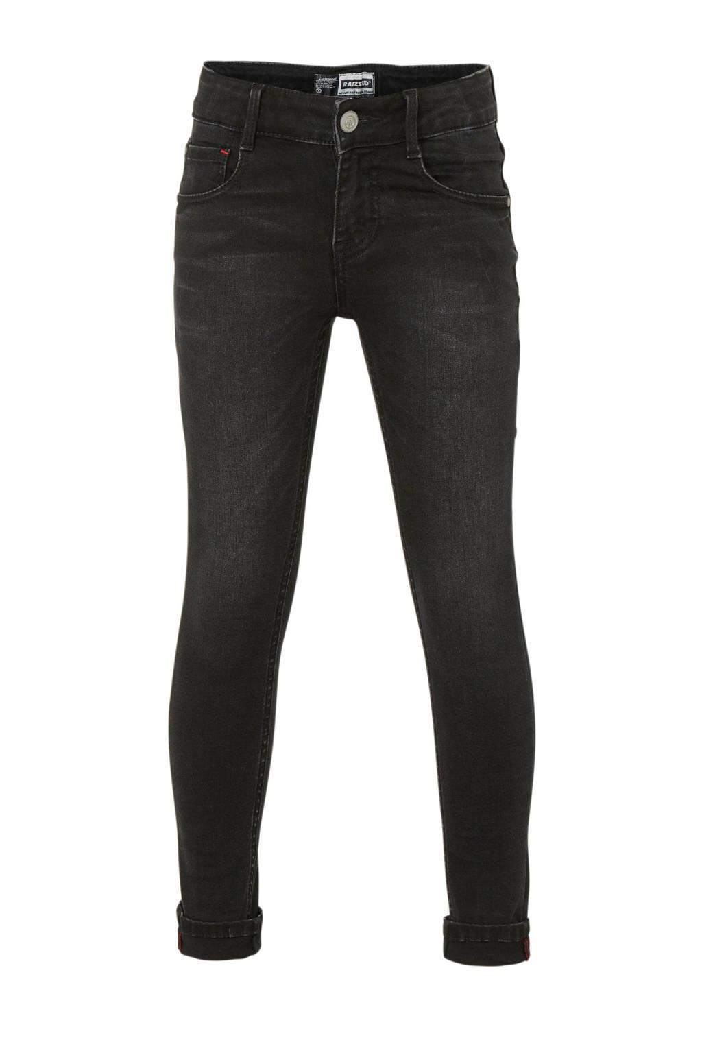 Raizzed skinny jeans Tokyo zwart, Zwart