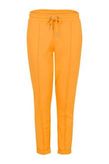 Regulier regular fit broek geel