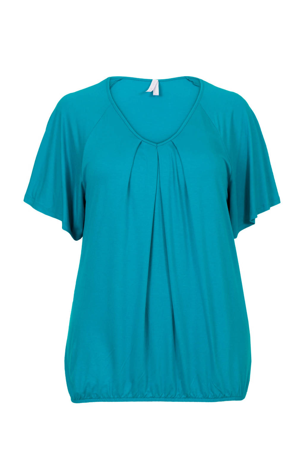 Miss Etam Plus T-shirt turquoise, Turquoise