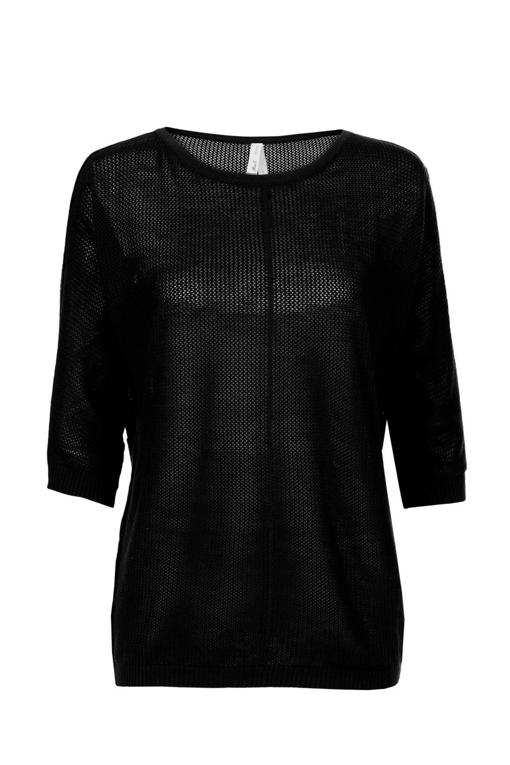 Miss Etam Regulier trui zwart, Zwart