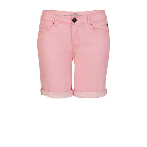 Miss Etam Regulier straight fit bermuda roze