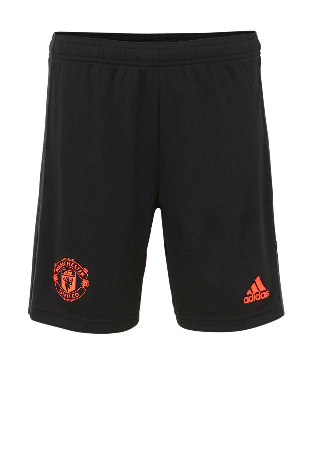 adidas Junior Manchester United voetbalshort, Zwart
