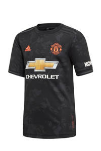 adidas Performance Junior Manchester United voetbalshirt, Black
