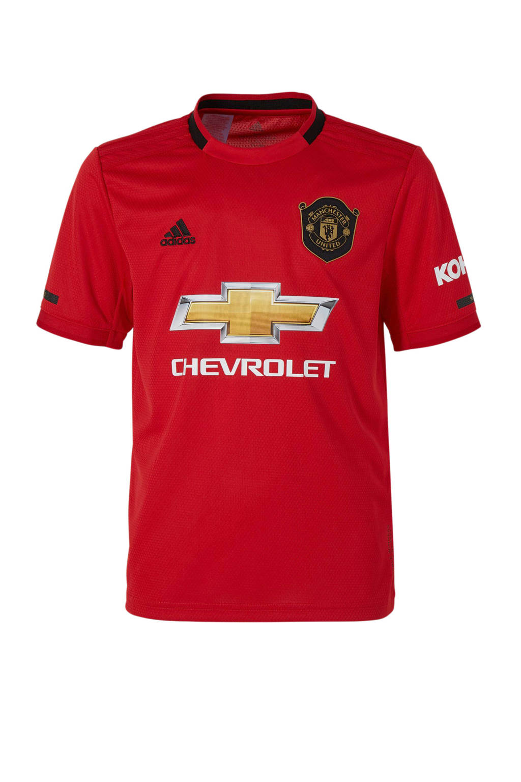 adidas Junior Manchester United voetbalshirt Thuis, Rood
