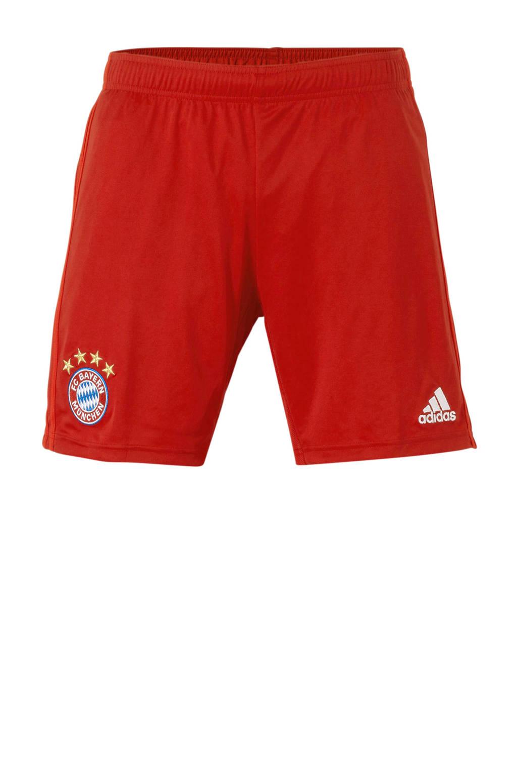 adidas Senior FC Bayern München voetbalshort Thuis, Rood