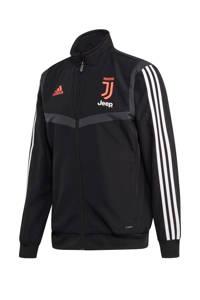 adidas Senior Juventus voetbaljack Presentatie, Zwart/grijs