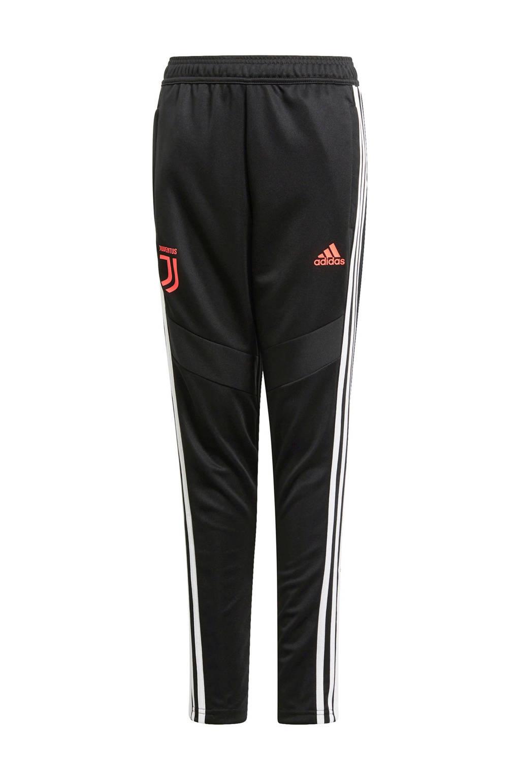 adidas Junior Juventus voetbalbroek Training, Zwart/wit