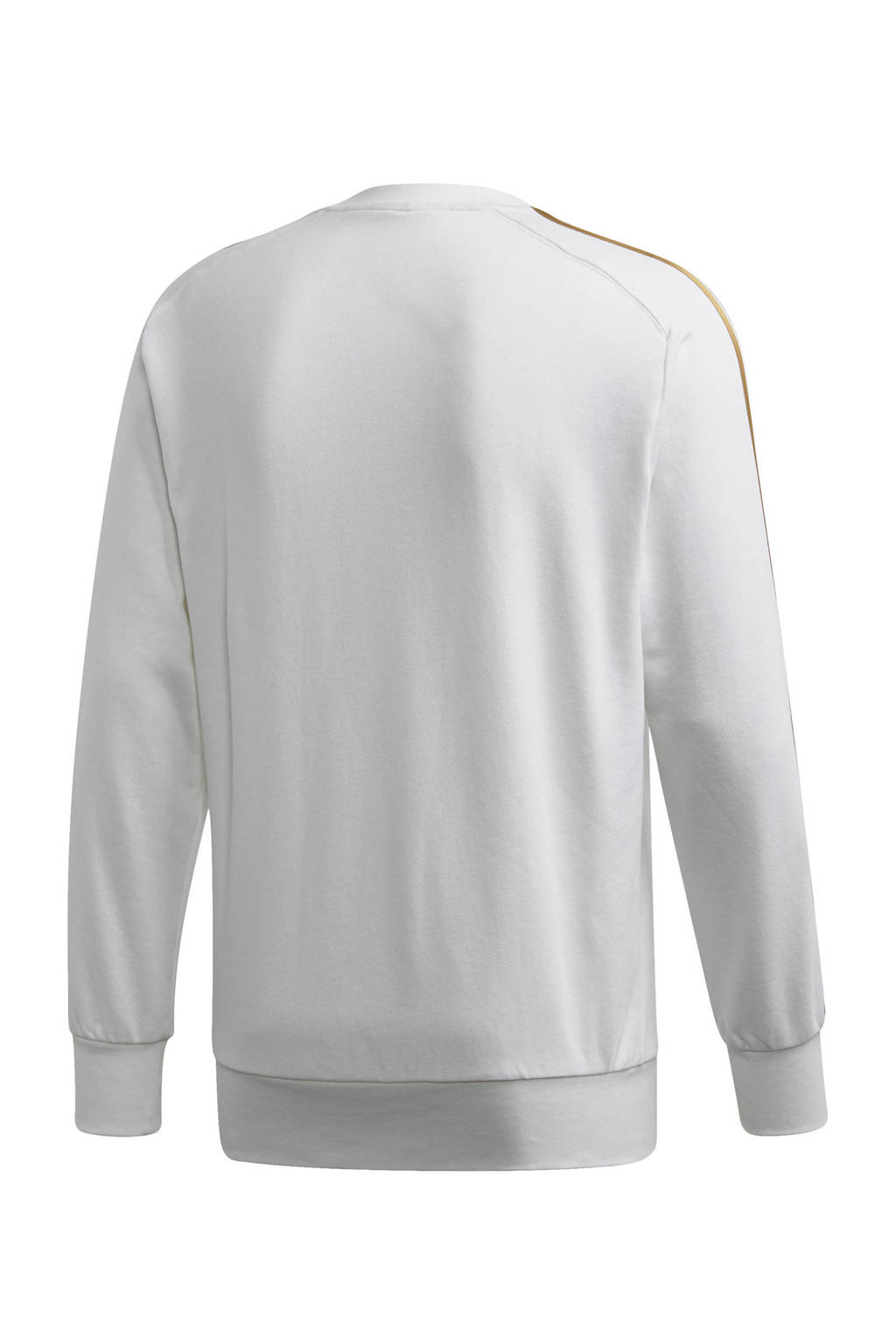 adidas Senior Real Madrid voetbalsweater, Wit/goud