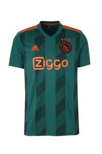 adidas Performance Senior Ajax voetbalshirt Uit, Groen/zwart/oranje