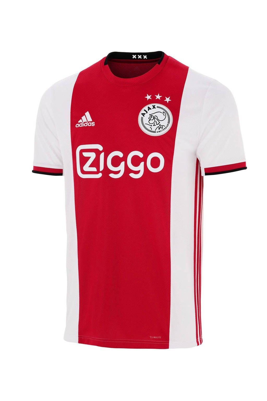 adidas performance Senior Ajax voetbalshirt, Heren, Rood/wit/zwart
