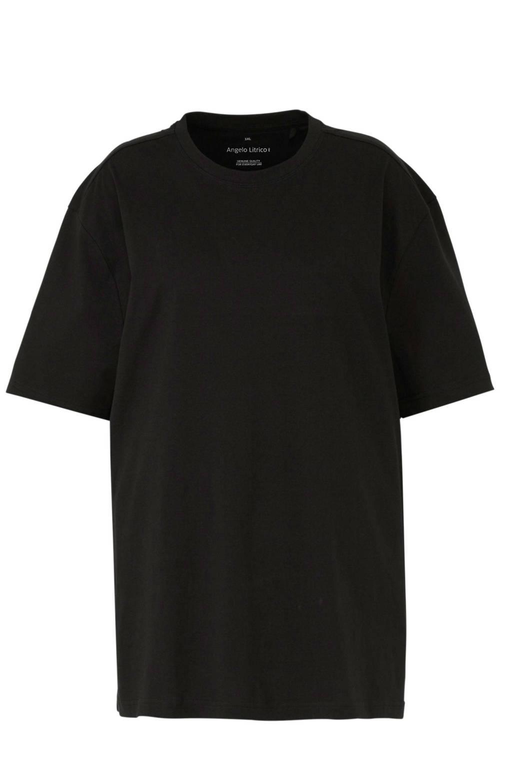 C&A Angelo Litrico T-shirt zwart, Zwart