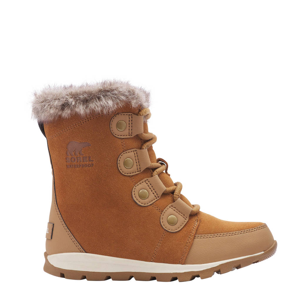 Sorel Youth Whitney Short Lace  Youth Whitney Short Lace snowboot camel/lichtbruin kids, Camel/Lichtbruin