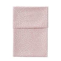 Cottonbaby baby wieglaken hagel 75 x 90 cm roze, Roze