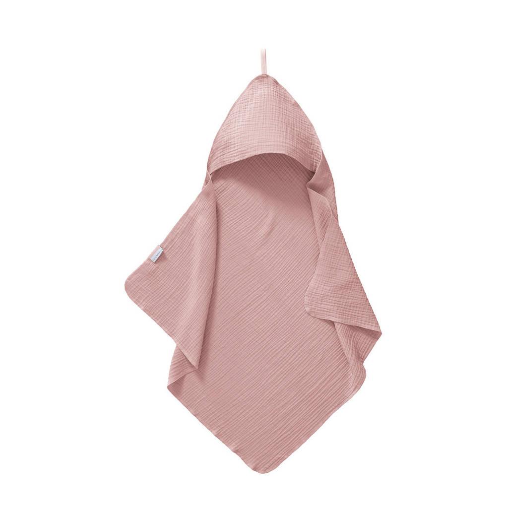 Cottonbaby badcape soft oudroze, Oudroze